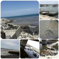 مشاكل بيئية وخيمة يعانيها بحر قطاع غزة