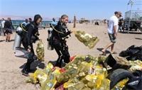 النفايات البلاستيكية قنبلة موقوتة تهدد المرجان والحياة البحرية في العقبة