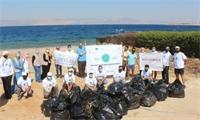 حملة نظافة لموقع المملح الشاطىء الجنوبي