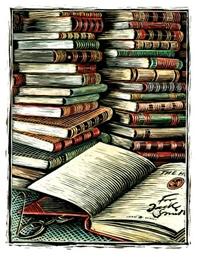 عامل نظافة يؤسس مكتبة من الكتب الملقاة في النفايات